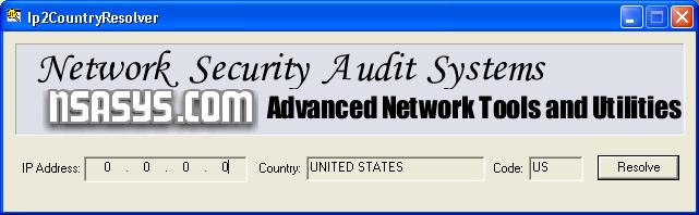 Ip2CountryResolver 1.4.5